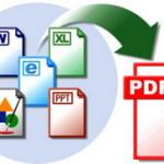 Как сохранить документ в формате PDF!