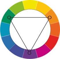 как выбрать 3 цвета