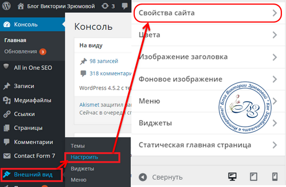 Как установить favicon на движке WordPress