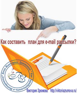 Как составить план для e-mail рассылки